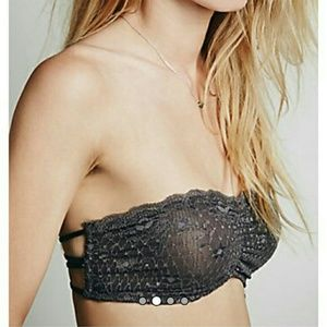 NWT Free People Essential Lace Bandeau Bralette